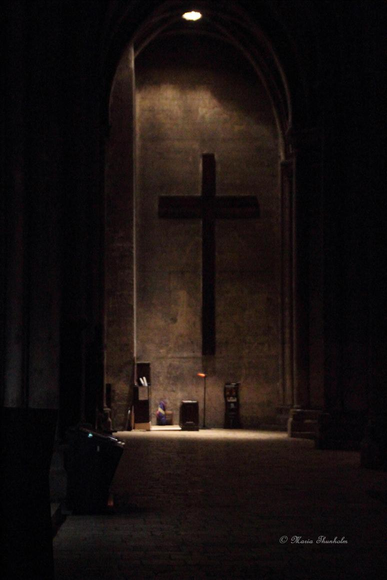L'intérieur de Notre Dame de Chartres, Eure-et-Loir, région Centre. Mercredi 9 janvier 2013.